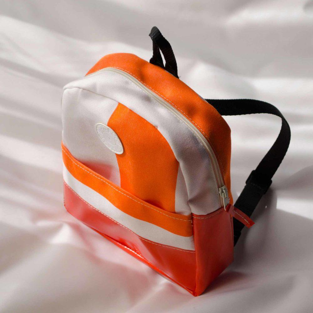 zainetto-bambino arancione fluo
